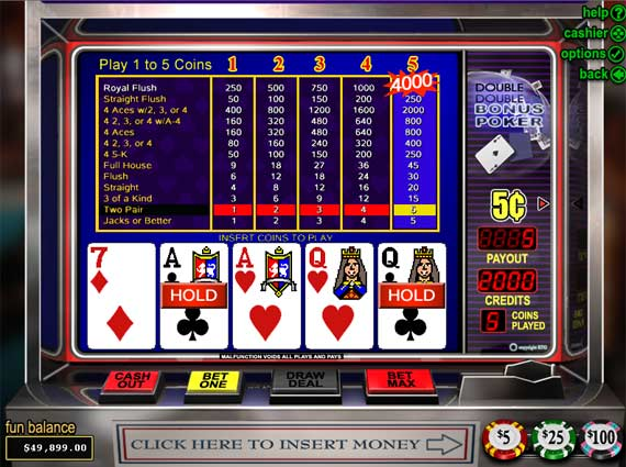Online Video Poker at Bovada Casino