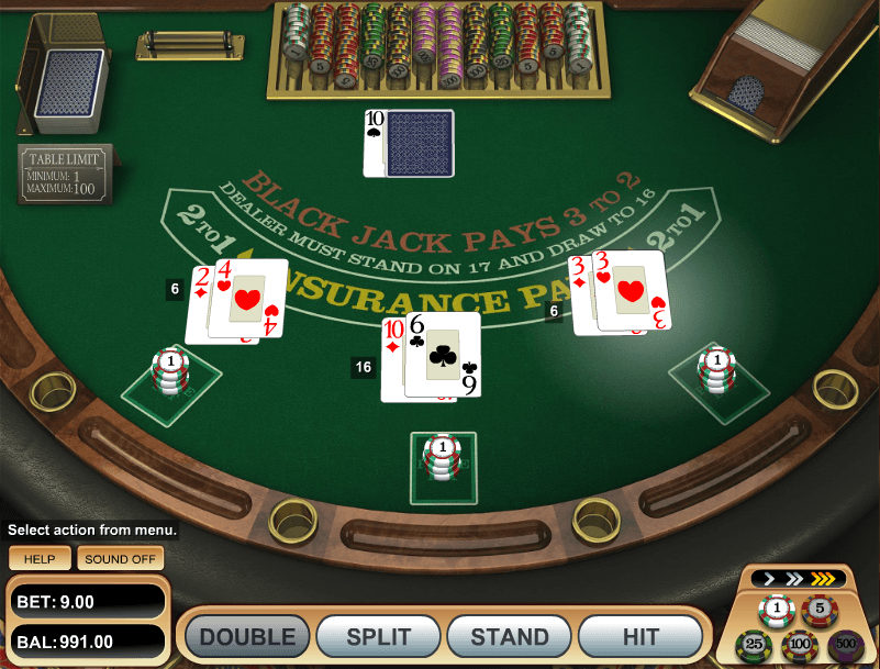 blackjack free online trainer