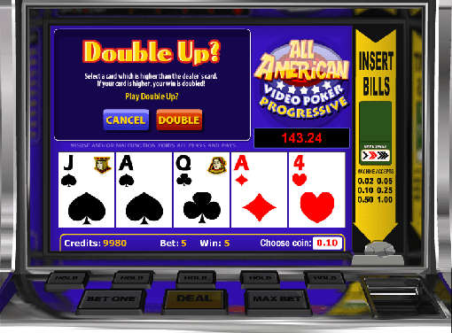 Drake Casino Video Poker
