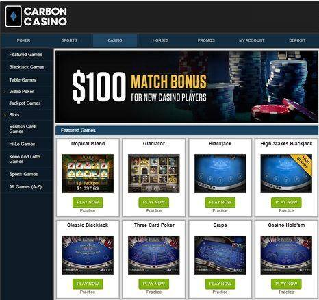 Carbon Casino Lobby