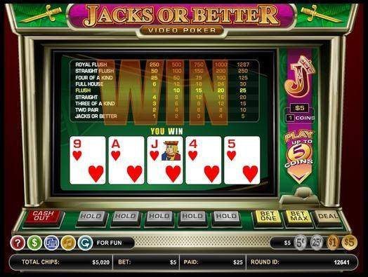Carbon Casino Video Poker