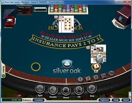 Silver Oak Casino Blackjack