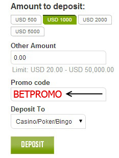 Ladbrokes Casino Promo Code: FTR